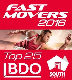 Fast Movers 2016 Top 25