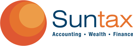 Suntax business logo
