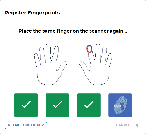 Fingerprint Scanner WageLoch